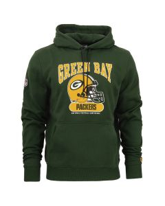Green Bay Packers New Era Archie pulover sa kapuljačom