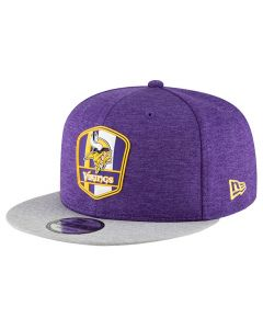 Minnesota Vikings New Era 9FIFTY 2018 NFL Official Sideline Road kačket