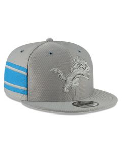 Detroit Lions New Era 9FIFTY 2018 Sideline Color Rush Graphite Mütze