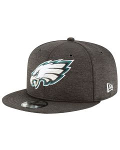 Philadelphia Eagles New Era 9FIFTY 2018 NFL Official Sideline Home Mütze