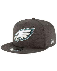 Philadelphia Eagles New Era 9FIFTY 2018 NFL Official Sideline Home kačket