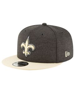 New Orleans Saints New Era 9FIFTY 2018 NFL Official Sideline Home Mütze