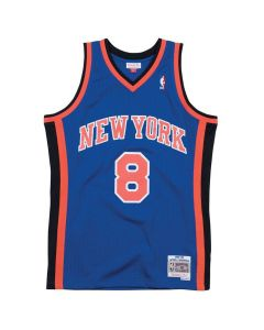 Latrell Sprewell 41 New York Knicks 1998-99 Mitchell & Ness Swingman dres