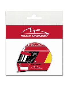 Michael Schumacher Helmet 2000 Aufkleber