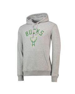 Milwaukee Bucks New Era Team Logo PO pulover sa kapuljačom