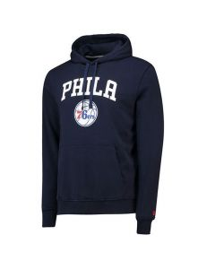 Philadelphia 76ers New Era Team Logo PO pulover sa kapuljačom