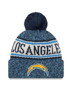 Los Angeles Chargers New Era 2018 NFL Cold Weather Sport Knit zimska kapa