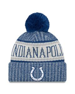 Indianapolis Colts New Era 2018 NFL Cold Weather Sport Knit Wintermütze