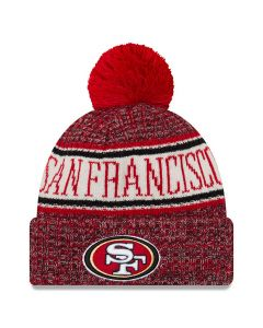 San Francisco 49ers New Era 2018 NFL Cold Weather Sport Knit Wintermütze