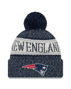 New England Patriots New Era 2018 NFL Cold Weather Sport Knit zimska kapa