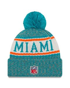 Miami Dolphins New Era 2018 NFL Cold Weather Sport Knit Wintermütze