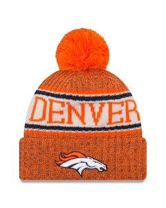 Denver Broncos New Era 2018 NFL Cold Weather Sport Knit Wintermütze