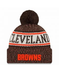 Cleveland Browns New Era 2018 NFL Cold Weather Sport Knit Wintermütze