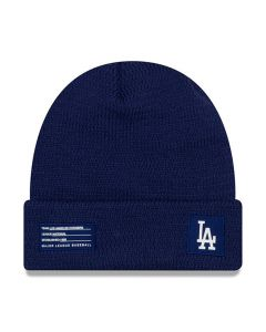 Los Angeles Dodgers New Era 2018 MLB Official On-Field Sport Knit Wintermütze