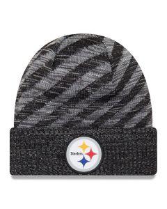 Pittsburgh Steelers New Era 2018 NFL Cold Weather TD Knit Wintermütze