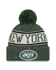 New York Jets New Era 2018 NFL Cold Weather Sport Knit Wintermütze