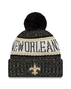 New Orleans Saints New Era 2018 NFL Cold Weather Sport Knit zimska kapa