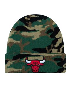 Chicago Bulls New Era Essential Camo Wintermütze