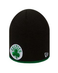 Boston Celtics New Era Team Skull Knit Wintermütze