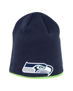 Seattle Seahawks New Era Team Skull Knit zimska kapa