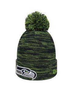 Seattle Seahawks New Era Marl Knit zimska kapa