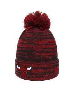 Chicago Bulls New Era Marl Knit Wintermütze