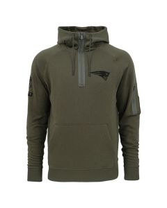 New England Patriots New Era Camo Collection zip pulover s kapuco