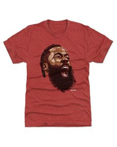 James Harden 500 Level Scream N Tri Red T-Shirt