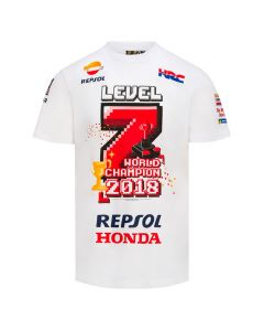 Marc Marquez MM93 World Champion 2018 majica