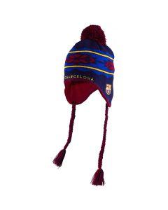 FC Barcelona Chullo Trendy Wintermütze