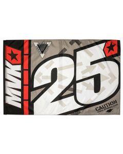 Maverick Vinales MV25 Fahne Flagge 140x90